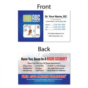 Business / Referral Cards Category | DIY Chiropractic Marketing